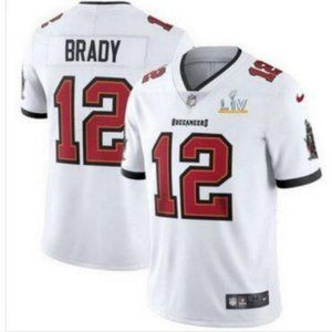 NIKE Tampa Bay Buccaneers Tom Brady #12 White